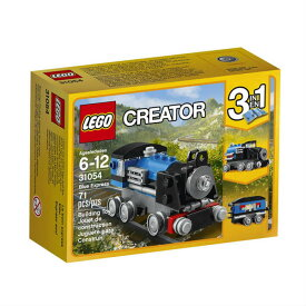 レゴ クリエイター 青い汽車 LEGO Creator Blue Express 31054 Building Kit 並行輸入品【メール便/送料無料】
