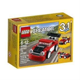 レゴ クリエイター 赤いレースカー LEGO Creator Red Racer 31055 Building Kit 並行輸入品【メール便/送料無料】