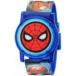 腕時計スパイダーマンマーベルボーイズクォーツ時計プラスチックストラップ付きSPD4493並行輸入品【キャラクターグッズプレゼントお子様お祝い誕生日アベンジャーズライトアップ光るフリップ】