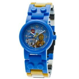 腕時計 スターウォーズ レゴウオッチ R2-D2&C-3PO LEGO 8020394 並行輸入品 【ミニフィギュア お子様 子供 プレゼント 誕生日 お祝い 時計 おもちゃ レゴブロック クォーツ】【メール便送料無料】