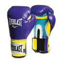 Everlast エバーラスト プロスタイル練習用ボクシンググローブ12oz パープル/イエロー 並行輸入品