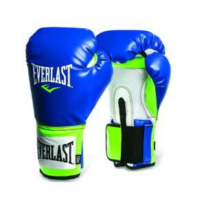 Everlast エバーラスト プロスタイル練習用ボクシンググローブ12oz ブルー×グリーン 並行輸入品 【トレーニンググローブ フィットネス 格闘技 スパーリング サンドバッグ打ち ミット打ち】