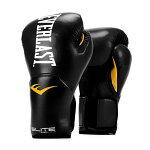 Everlastエバーラストエリートプロスタイル練習用ボクシンググローブ8ozブラック並行輸入品