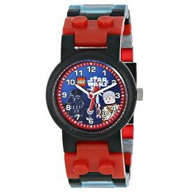 腕時計 スターウォーズ ダースベイダーVSオビワン LEGO レゴウォッチ 9001192 並行輸入品【メール便/送料無料】