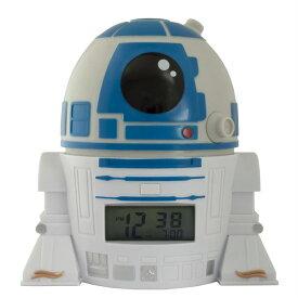 目覚まし時計 スターウォーズ R2-D2 ライトアップアラーム BulbBotz バルブボッツ 2021401 並行輸入品 【star wars ドロイド キャラクター グッズ プレゼント お子様 お祝い 誕生日 アラーム スヌーズ 映画】