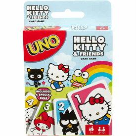 マテル ウノ ハローキティ&フレンズ カードゲーム UNO Hello Kitty & Friends 並行輸入品 【UNO キャラクター グッズ プレゼント お子様 お祝い 誕生日 女の子 サプライズ サンリオ バッドばつ丸】【メール便送料無料】