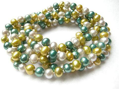 淡水真珠ネックレス