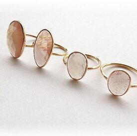 アンデシン 手巻き K10リング チベットサンストーン ジュエリー jewelry アクセサリー accessory ゴールドアクセサリー ギフト 贈り物 自分へのご褒美