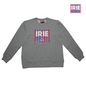 IRIE トレーナー IRIE TAG CREW GRY IRAW18029 グレー 【 2018 メンズ トレーナー / 定番 アイリー lrie Life スウェット / メンズ / ストリート / アイリーライフ / あす楽 】