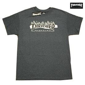 THRASHER Tシャツ RIPPED TEE D.H 311211 【 2019 メンズ / スラッシャー Tシャツ / USA モデル スケーター / ストリート / サーフ / スケート / スラッシャー 半袖 / レゲエ / メール便可 / あす楽 】