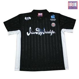 IRIE シャツ IRIE FOOTBALL SHIRT BLK IRHA19043 ブラック 【 2019 アイリー lrie Life / サッカーシャツ / メンズ ファッション / アイリー シャツ / レゲエ / ストリート / B系 / スケーター / アイリーライフ / サーフ / メール便可 / あす楽 】