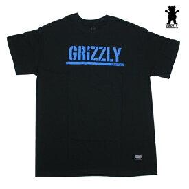 GRIZZLY Tシャツ GRIZZLY STAMP S/S TEE BLK vigr2019 ブラック 【 2020 グリズリー Tシャツ / メンズ Tシャツ /スケーター スケボー スケートボード/ B系 / メール便可 / あす楽 】