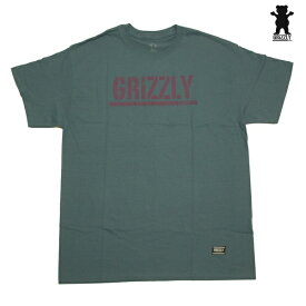 GRIZZLY Tシャツ GRIZZLY STAMP S/S TEE STL vigr20110 【 2020 グリズリー Tシャツ / メンズ Tシャツ /スケーター スケボー スケートボード/ B系 / メール便可 / あす楽 】