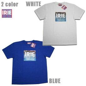 IRIE Tシャツ WATER SPLASH LOGO TEE IRSS2050 ホワイト ブルー 【 2020 アイリー lrie Life / レゲエ / メンズ ファッション / アイリー Tシャツ / レゲエ / ストリート / B系 / スケーター / アイリーライフ / サーフ / メール便可 / あす楽 】