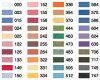 國家 (哥哥) 哥哥刺繡執行緒 40 顏色設置