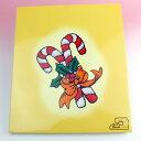 【展示品】ブラザーミシン 刺しゅうカード 「クリスマス」 [程度:良好][NO,68]