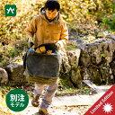 アソビト asobito 薪バッグ 防水帆布ケース(フラップ付き) オリーブ ab-013s [薪ケース 別注モデル 限定]