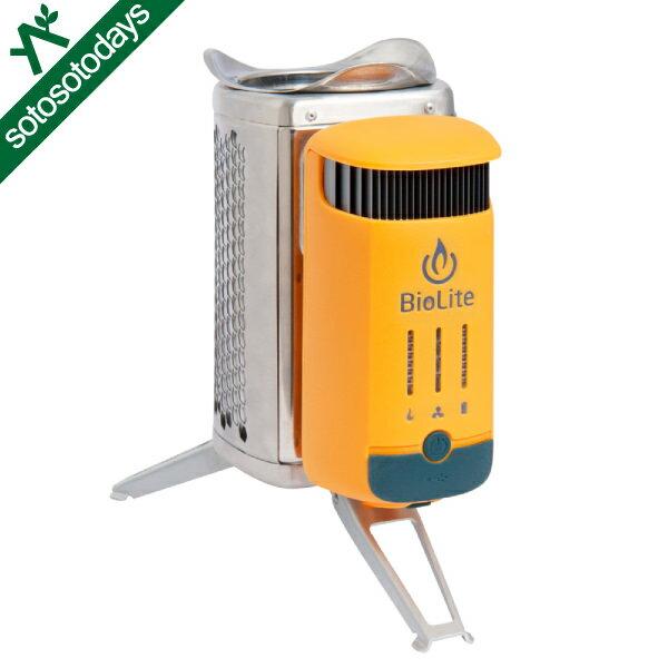 バイオライト BioLite キャンプストーブ2 1824226 [焚き火 蓄電 USB 防災]