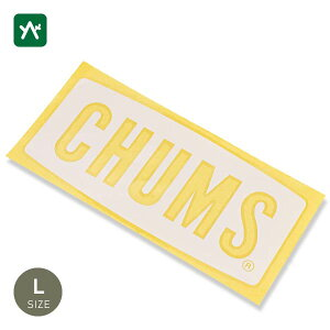 チャムス CHUMS カッティングシートチャムスロゴ L CH62-1482-0000-00 [11×25cm]