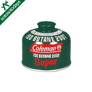 コールマン Coleman 純正イソブタンガス燃料 Tタイプ 230g 5103A200T [ガス OD缶]