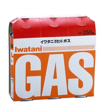 イワタニ カセットガス 3P CB-250-OR [カセットボンベ 燃料]