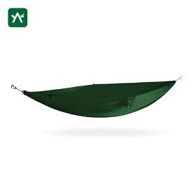 カモック KAMMOK ルー シングル フォレストグリーン KM4785FG [1人用 ハンモック コンパクト収納 キャンプ]