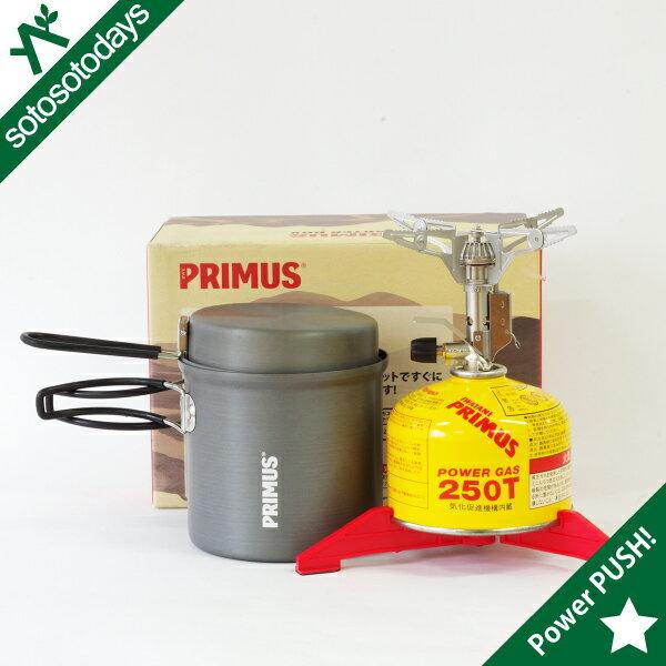 プリムス PRIMUS スターターボックスIII P-STB3 [シングルバーナー OD缶]