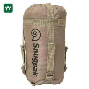 スナグパック Snugpak コンプレッションサック ミディアムサイズ デザートタン SP14707DT [圧縮バッグ 旅行 キャンプ]