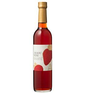 巨峰ワイナリー【ワイン 7度】あまおういちごワイン 500ml福岡県特産のブランドいちご『あまおう』のワイン 全国酒類コンクールワイン部門第2位 福岡 田主丸 ※アルコール度数は、収穫時期