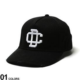 DSQUARED2 (ディースクエアード) 3Dロゴ 5パネル キャップ DCブランド メンズ 男性 帽子 キャップ ベースボールキャップ 刺繍 ストリート シンプル 夏 日よけ D2BCM035205C001