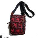 MONCLER (モンクレール) 総ロゴ ベルトループ付き ショルダーバッグ DETOURブランド メンズ 男性 小物 鞄 バッグ ショ…