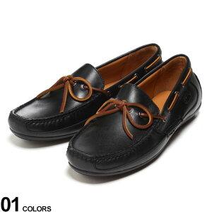POLO RALPH LAUREN (ポロ ラルフローレン) レザー コード ドライビングシューズ BLACKブランド メンズ 男性 シューズ 靴 レザー ローファー ローカット 本革 きれいめ ビジカジ RL803730083001