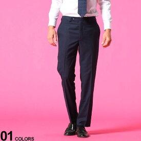 Calvin Klein (カルバンクライン) ウォッシャブル ストレッチ ノータック 無地 スラックスブランド メンズ 男性 紳士 ボトムス スラックス ロングパンツ ビジネス フォーマル きれいめ CKJINNYJ7004