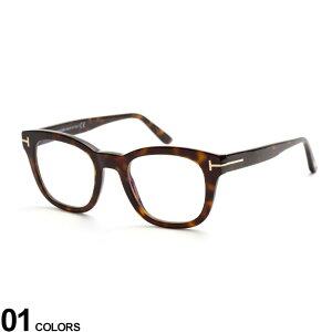 TOM FORD (トムフォード) ロゴ クリアレンズ サングラスブランド メンズ 男性 眼鏡 伊達メガネ アイウェア サングラス TFOP5542B052