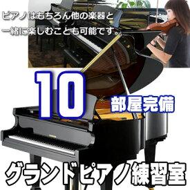 レンタルルーム(30分)グランドピアノで練習しよう!(予約制)【名古屋のピアノ専門店】