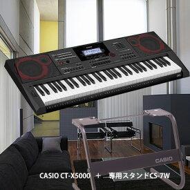 【7月下旬入荷予定分】カシオCASIO CT-X5000とスタンドセット【電子ピアノ】【名古屋のピアノ専門店】