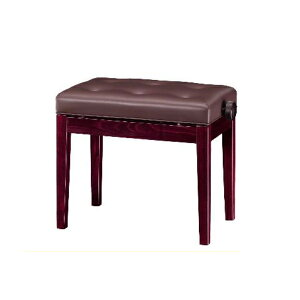 【送料無料】ピアノ椅子 高低自在 XD-2S マホガニー艶出し・ストレート脚・両ハンドル【名古屋のピアノ専門店】