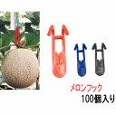 プラスチック フック (メロンフック) PPフック100個入り メロン フック 日本製 オリジナル商品 メロンフック…