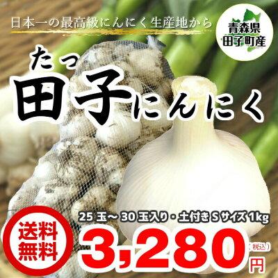 田子にんにく1kg_Sサイズ