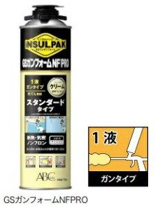 ABC商会 GSガンフォームNFPRO 断熱材(750ml) 1ケース12本セット