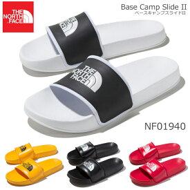THE NORTH FACE【ザ・ノースフェイス】ベースキャンプスライド2 NF01940 メンズ スポーツサンダル Base Camp Slide IIシャワーサンダル/シャワサン/スポサン/レッド/ブラック/ホワイト/イエロー/カジュアル/軽量【25%OFF】