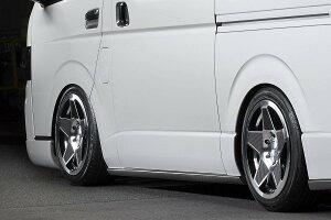 M-TechnoM.T.S.BERTEXBODYLINE(エムテクノエム・ティ・エス・バーテックスボディライン)MTSトヨタ200系ハイエース標準ボディ用STYLE-S(スタイル-エス)サイドステップCARBON(カーボン)製