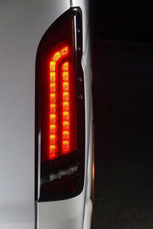 予約販売M-TechnoM.T.S.OTHER(エムテクノエム・ティ・エス・アザー)MTSトヨタ200系ハイエース用EUROLEDTAILLAMPREVO(ユーロLEDテールランプ・レボ)ハイエーステールランプヴァレンティ(バレンティ)