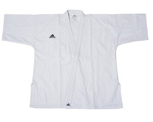adidas アディダス 純白フルコン空手衣 FK001(1号〜3号) FK001-3 //アディダス 空手着 形組手兼用 道衣 道着 試合 練習 組手
