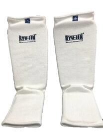 リュウジン RYUJIN レッグサポーター (RYULS001) //空手 足サポーター フルコン レッグサポーター 子供 シニア 一般 脛サポーター
