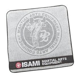 【エントリーでポイント10倍!!】ISAMI 空手 ミニタオル //イサミ ハンドタオル 綿100%