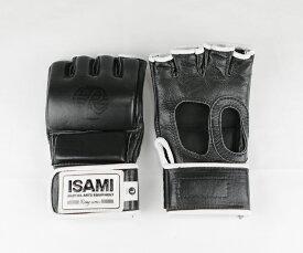 ISAMI オープンフィンガーグローブRS RS-003 //イサミ 総合格闘技 MMA 本革 グラップリンググローブ 送料無料