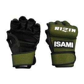 ISAMI オープンフィンガーグローブ RIZIN 日本製 rz-001 //イサミ グラップリンググローブ MMA 総合格闘技 スパーリング 格闘技 送料無料