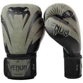VENUM ボクシンググローブ IMPACT (カーキ×ブラック) //ヴェナム スパーリンググローブ 格闘技 ボクササイズ フィットネス キックボクシング 送料無料