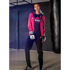 adidas サウナスーツ シルバーハイロン WOMEN //アディダス デトックス 大量発汗 ボクササイズ フィットネス トレーニング ウェア レディース 女性向け ダイエット 減量